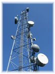 Point-to-point wireless backhaul