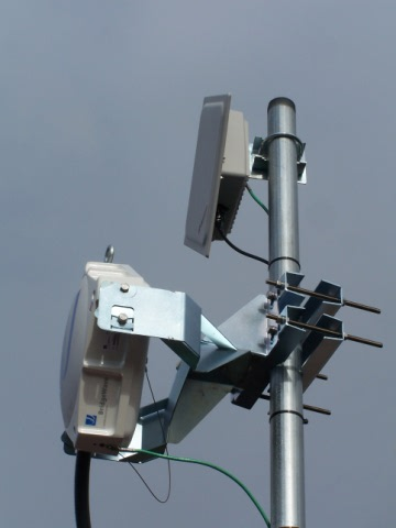 Redundant Wireless backhaul