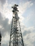 wireless backhaul tower installation
