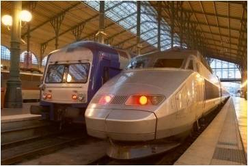 Wireless on rail