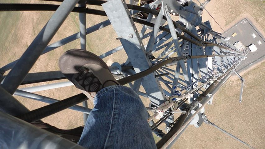 400ft tower climb